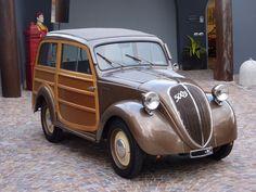 Fiat 500 B Giardiniera Belvedere