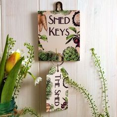 Shed Hook And Keyring Gift Set by Angelic Hen, the perfect gift for Explore more unique gifts in our curated marketplace. Peg Hooks, Shed Floor, Garden Organization, Linseed Oil, Unique Gifts, Handmade Gifts, Finding A House, Outdoor Gardens, Cleaning Wipes