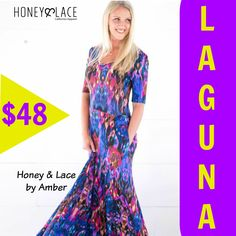 This dress, WITH POCKETS, hugs in all the right places! It's the perfect length for fall and runs true to size. Pair with a jean jacket and you'll be set! #laguna #lagunadress #honeyandlacebyamber #fall #fallfashion #ohhoneyyoulookgreat #longdress