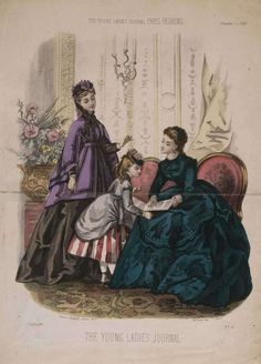 The Young ladies' Journal 1869