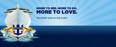 Cruises...Royal Caribbean, the only way to go!