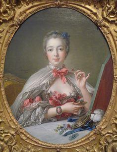 MADAME DE POMPADOUR, BY FRANCOIS BOUCHER