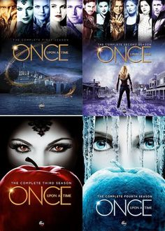 Once Upon a Time : Complete Four Seasons 1 - 4 Collection DVD, Ouat, Movies And Series, Movies And Tv Shows, Tv Series, Best Tv Shows, Best Shows Ever, Favorite Tv Shows, Killian Jones, Emma Swan