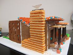 Food Architecture and Sculpture Designs for your building inspiration. Recommended by Andrea Beaty, author of Iggy Peck Architect. #STEAM