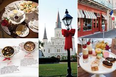 Listed in a Tea Time Magazine article listing where to take tea in New Orleans!