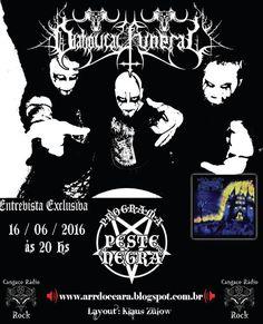 Força Metal BR: Diabolical Funeral: Entrevista para o programa Pes...
