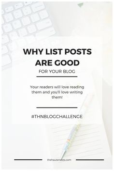 Why List Posts are Good for Your Blog