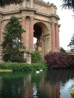 Palace of Fine Arts...