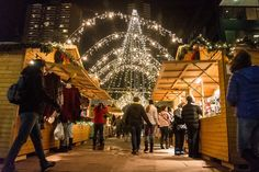 Just in time for the holiday season, the Christkindl Market has set up shop again in Skyline Park on the 16th Street Mall, bringing old-world charm to downtown Denver streets for gift-buyers looking for something different. All photos by Ken Hamblin.