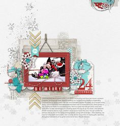 #winter #scrapbook #decdaily goodness from Connie at DesignerDigitals.com