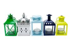 Zbuduj nastrój kolorowymi latarenkami. //  Build up a mood with colorful lanterns.