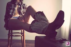Cowboy Boudoir   Cowboy Valentine: Pretty in Boots   Boudoir Photographer Kelly Cameron