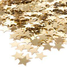 Confetti-Super Value Packs Confetti-GOLD STARS-Wedding decoration-Supplies-Party-Love on Etsy, $2.25