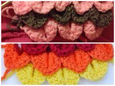 Crocodile crochet, see yarn n things board for pin!
