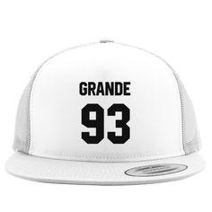 Ariana Grande 93 Embroidered Trucker Hat
