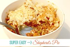 Super Easy Shepherd's Pie With Hash Brown Topping #OreIdaHashbrn #shop #cbias
