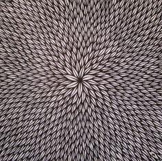Jonathan Pradillon (©2014 artmajeur.com/jonathan-pradillon) œuvre réalisé au posca ( peinture acrylique ) sur toile, sans support.  Format : 24 cm x 24 cm.  Réalisé le : 06 / 2014