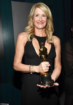 Looking good:On a night dominated by her first Academy Award win, Laura Dern slipped into...