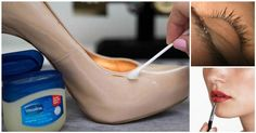 "The name ""Vaseline"" instantly reminds us of a thick, white jelly. Vaseline is a miraculous jelly, which can help you to bid farewell to a number of household problems. Here are some of the unique yet very useful uses of Vaseline. Diy Fashion, Womens Fashion, Fashion Tips, Fashion Hacks, Ladies Fashion, Fashion Clothes, Fashion Ideas, Leather Shoes, Patent Leather"