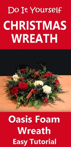 Learn how to make your own christmas table centerpieces and wreaths.  Easy DIY tutorials.  Buy fresh flowers, evergreens and discount florist supplies