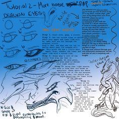 Dragon Basics - Eyes by on DeviantArt Dragon Horns, Dragon Tail, Dragon Eye, Basic Drawing, Dragon Design, You Draw, Drawing Reference, Photoshop, Deviantart