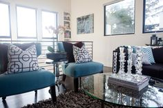 accent chairs, #teal