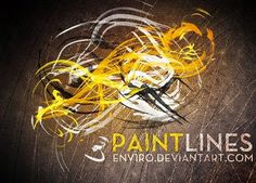 Paint Lines brushes Free Download