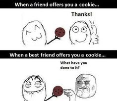 Lol that's like my bestie Bella she dose something to like a chip
