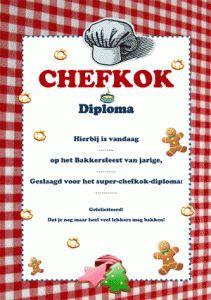 bakkersdiploma