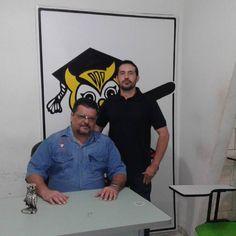 PROF. FÁBIO MADRUGA: PROFESSOR FÁBIO MADRUGA RECEBE A VISITA DE SEU EX ...