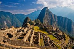Machu Picchu.  How in the world did people build this with no modern tools or knowledge