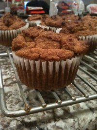 A friend of mine just made these and said they are delicious.  Paleo Pumpkin Muffins