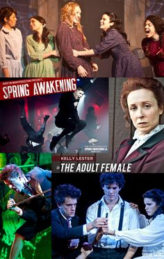 Spring Awakening. Saw it at Addison's Water Tower Theatre about a year ago. Wow! Can't say enough good about the show or the production.