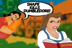 She looks like she's had it with Gaston...o-o