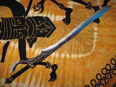 Spada oscura #lps #larp #cosplay #grv #forgiadellupo #brenin #latex #weapon #lattice #armi #spada #sword