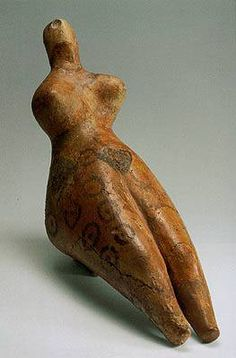Seated Female Figurine  Second half of the 4th millenium BCE,    Clay,    Southern Turkmenia,