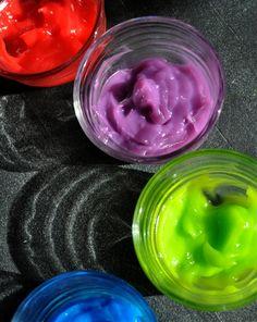 Activities: Make Homemade Fingerpaint