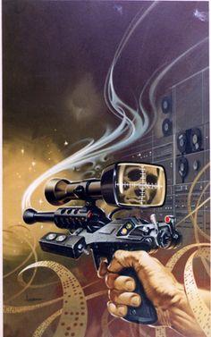 PAUL ALEXANDER - art for Algorithm by Jean Mark Gawron - 1978 Berkley Books
