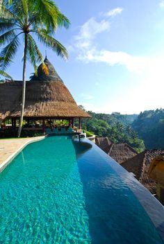 Infinity pool at The Viceroy Bali
