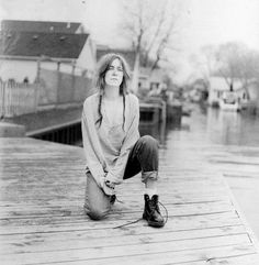 Patti Smith, so beautiful
