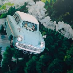 Fabulous Flying Ford Anglia Cake made by The Mischief Maker