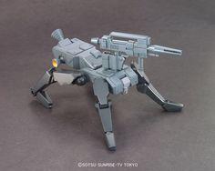 1/144 HGBC K9 Dog Pack | Gundam Build Fighters Animé | Military Sci-Fi Mecha Scale Model