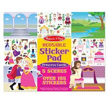 reusable sticker pad scenes are perfect for traveling with children!