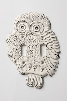 Hoot, Hoot Switchplate, Double - Anthropologie.com kitchen