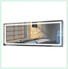 The Art Gallery Large Inch X Inch LED Bathroom Mirror Lighted Vanity Mirror Includes Dimmer u