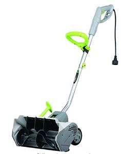 Earthwise Electric Power Snow Shovel - Electric Snow Shovel with Wheels