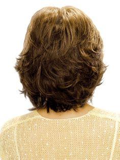 Natalie Wig by Estetica Designs : Back View | Color R14/8H
