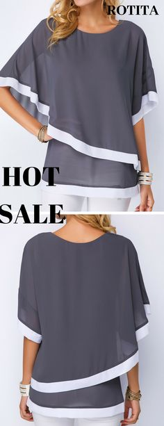 Our new arrivals are on hot sale,we will add new arrivals everyday,just shop now. Trendy Fashion, Plus Size Fashion, Womens Fashion, Chic Outfits, Fashion Outfits, Fashion Tips, Stylish Tops For Women, Plus Sise, Clothing Sites