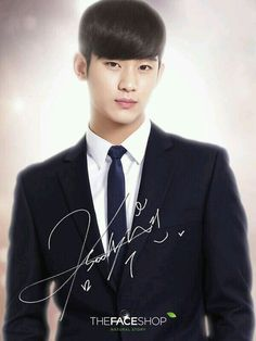 Kim soo hyun | my love from the stars | do min joon | photo grabbed from his twitter acc ^_^