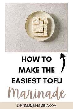 Tofu is an easy plant-based option that takes on so many flavours! You can make a tofu scramble, tofu stir fry and so much more! I swear by this recipe and it is The Easiest Tofu Marinade ever! Easy Tofu recipe. Simple tofu marinade. Healthy meal recipes. #healthyhabits Plant-based. Vegan Recipe. #tofumarinade #plantbased #tofurecipe #tofu Tofu Marinade, Marinated Tofu, Tofu Recipes, Healthy Recipes, Tofu Stir Fry, Quick Vegetarian Meals, Tofu Scramble, Healthy Habits, Plant Based